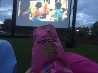 Because you can't go to the cinema without popcorn